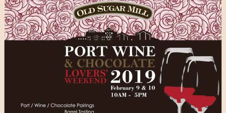 Port Wine & Chocolate Lovers Weekend at Old Sugar Mill