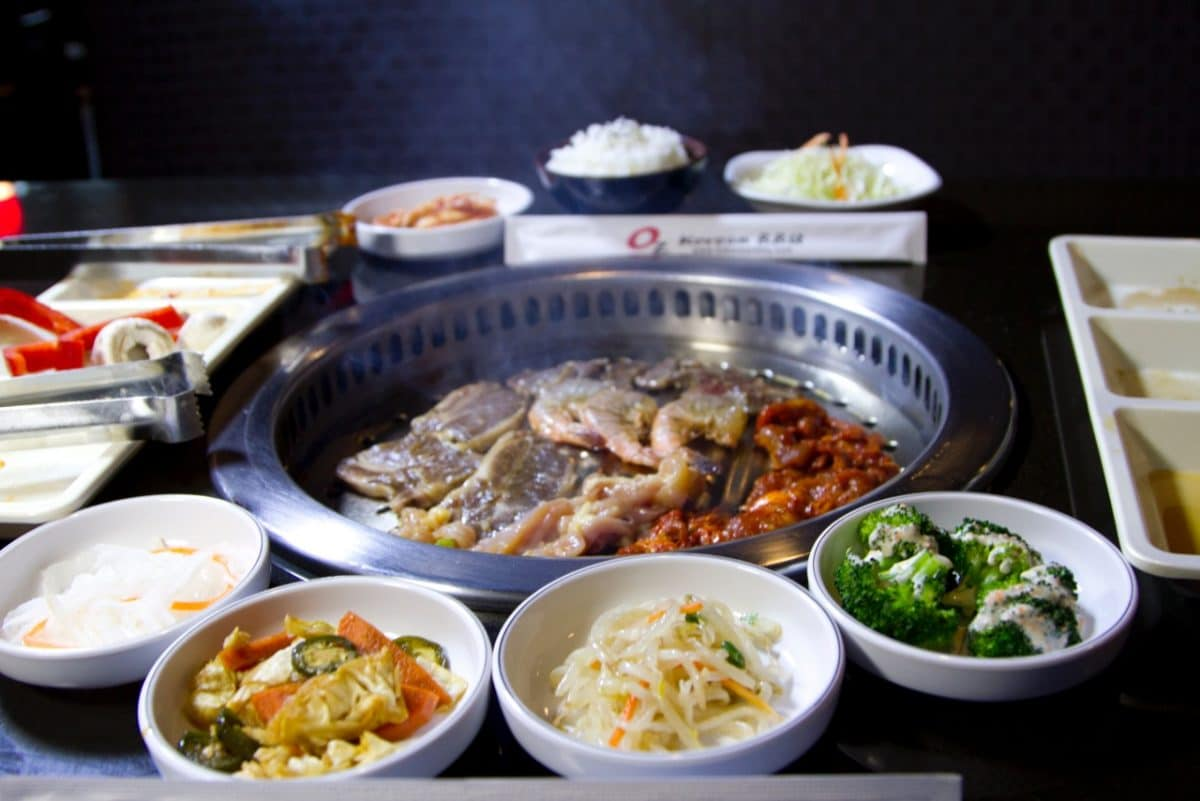 OZ Korean BBQ in Elk Grove, CA